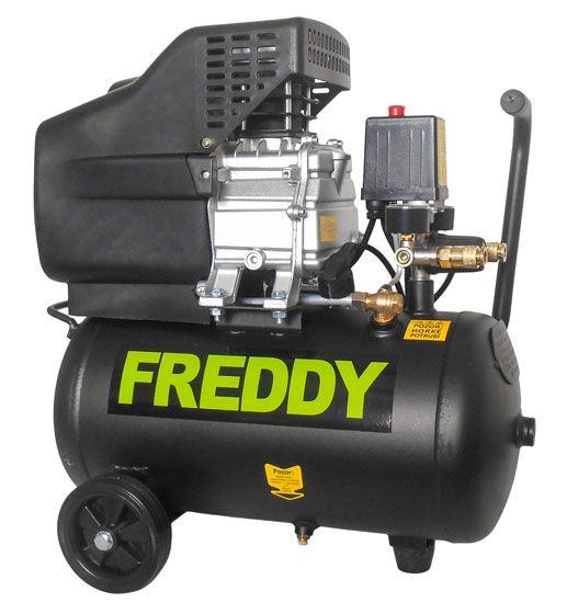 FREDDY olajos kompresszor 1,5kW 2,0HP 24liter 8 bar FR001