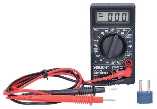 Multiméter max. AC 500V, max. DC 500V / 10A dióda teszt hangjelzés V15