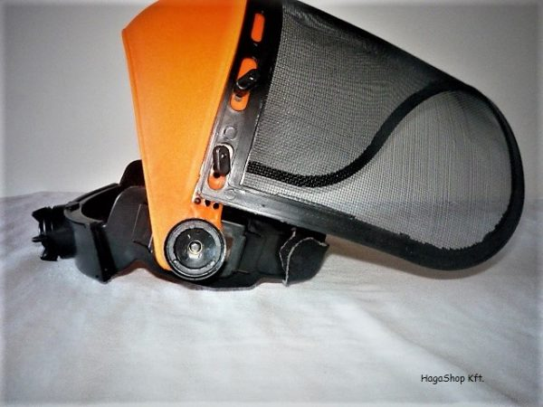 Fűkasza arcvédő rostély védőmaszk hálós FRM1