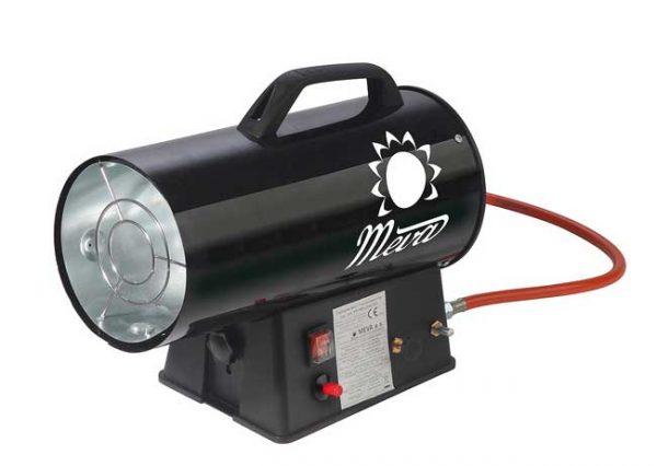 MEVA PB gázüzemű hőlégbefúvó hőlégfúvó hősugárzó 5-10kW TP17001