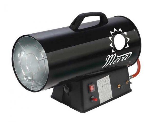 MEVA PB gázüzemű hőlégbefúvó hőlégfúvó hősugárzó 9-30kW TP17002