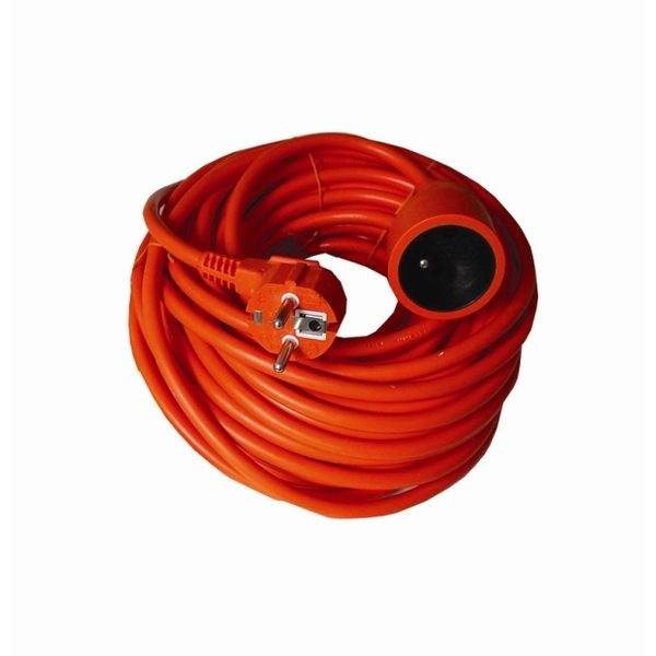 Hosszabbító kábel 20 m, 3×1,5 mm2 – narancs PS07