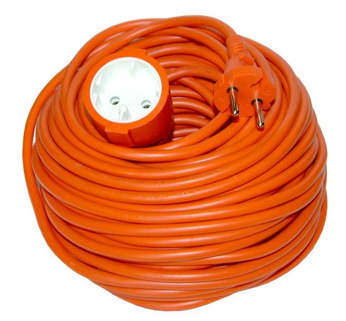 Hosszabbító  kábel  20  m  2×1  mm2  narancs PS27