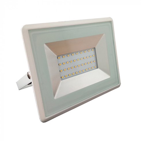 V-TAC kültéri LED reflektor lámpa 30W fehér 6400K hideg fehér 5957