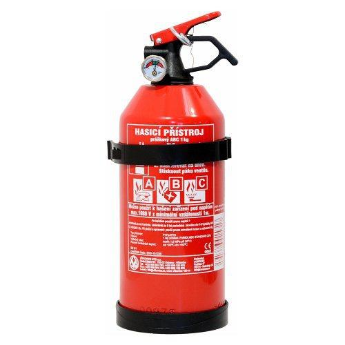 Tűzoltó  készülék  tűz oltó 1  kg  poroltó porral oltó ABC  manométerrel 01531