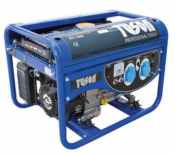 TUSON benzines  áramfejlesztő generátor aggregátor 2000W  OHV AVR ELC2500