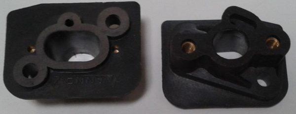 Fűkasza karburátor szívótorok közdarab 32 cm3 kínai 07-12031
