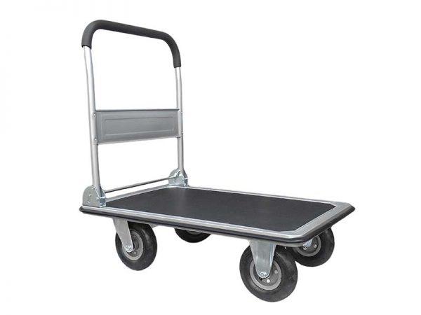 Kézikocsi raktárkocsi műhelykocsi kiskocsi szállító kocsi 300 kg 120236