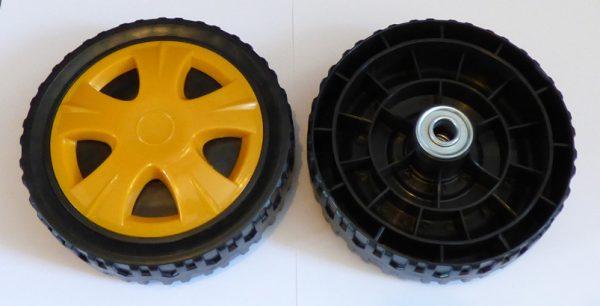 Univerzális kerék csapágyazással gumiköpennyel műanyag 175 mm 17-06032