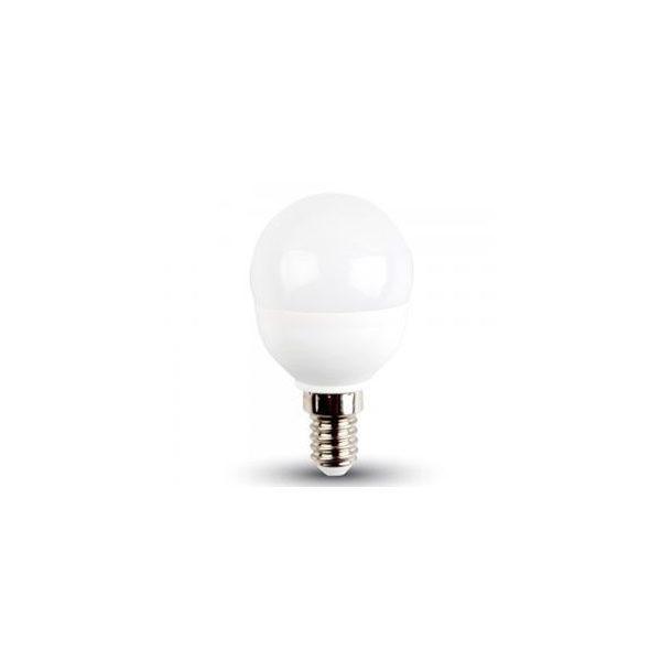 V-TAC 5,5W LED IZZÓ E14 P45 MELEG FEHÉR 42501