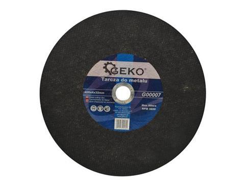 Geko fém vágókorong 400x4x32 fémhez G00007