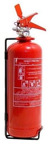 Tűzoltó készülék tűz oltó 2 kg poroltó porral oltó ABC manométerrel 01532