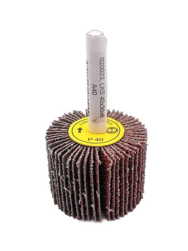MAGG csapos lamellás csiszolókorong csiszoló henger 40x30x6mm P40 020023