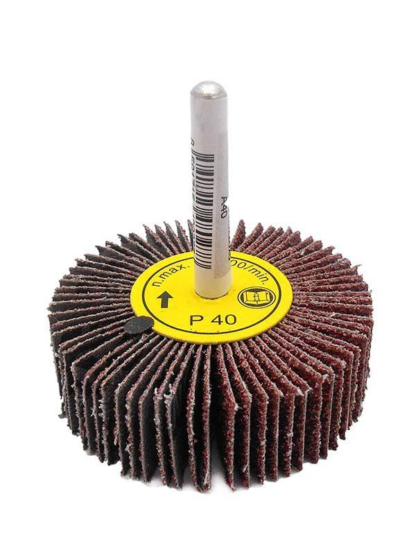 Csapos lamellás csiszolókorong 60x20x6mm csiszoló korong KORUND 100 020031