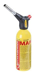 Rothenberger Power Fire Compact forrasztó készlet gázforrasztó gázégő forrasztó piezo mapp g 030813E