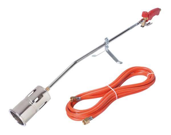 Rothenberger Romaxi gázperzselő perzselő disznóperzselő gázégő piezo 5m 030954E