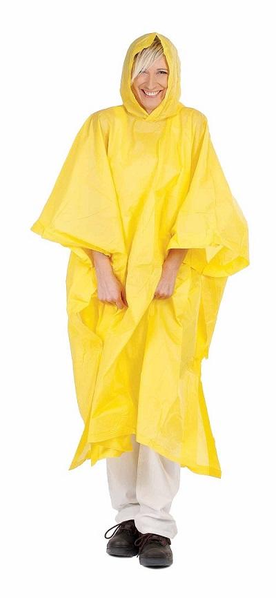 Poncsó PVC sárga 0311001170999