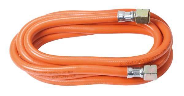 Rothenberger PB gázcső gáztömlő 5 mm átmérő 2.5 m csatlakozóval 032201E