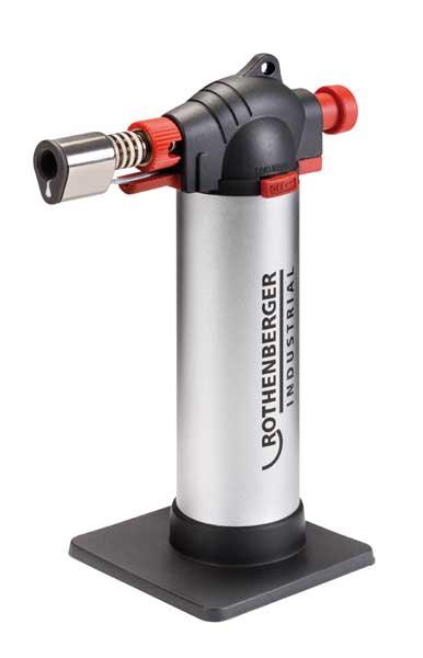 Rothenberger Creme Brulee forrasztópisztoly gázlámpa forrasztólámpa piezo 035126E