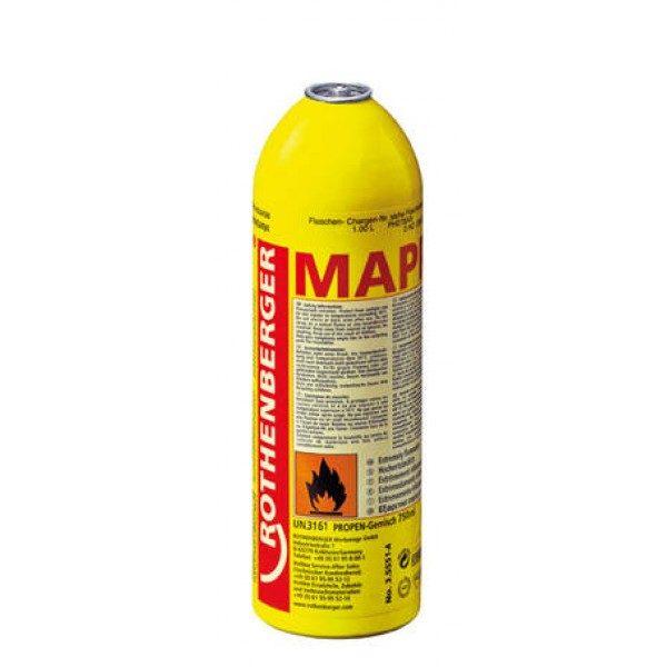 Rothenberger gázpalack gáz palack MAPP gázkeverék 750 ml/ 411 g 035551-C