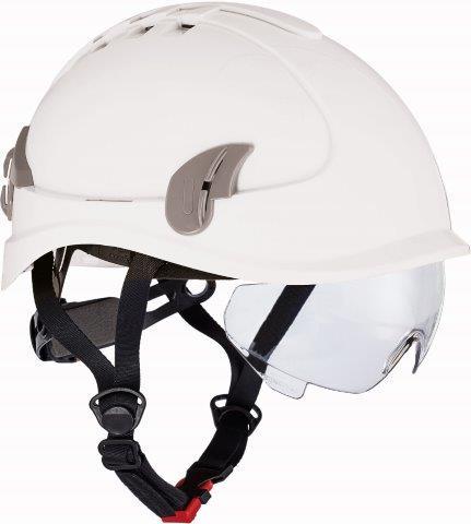 ALPINWORKER sisak WR szellőzővel – fehér ALPINWORKER-BIL
