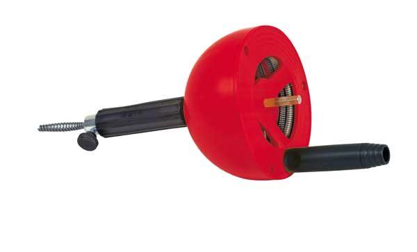 Rothenberger kézi vagy elektromos lefolyótisztító cső tisztító csőgörény 4,5 m 072990E