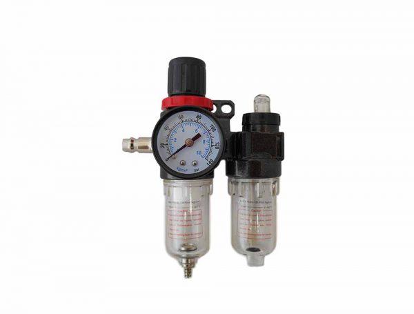 Levegős vízleválasztó levegőszabályzó és olajozó rendszer 100005