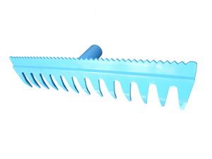 Gereblye fű / homok, 41 cm, 13 fog – műanyag 110001