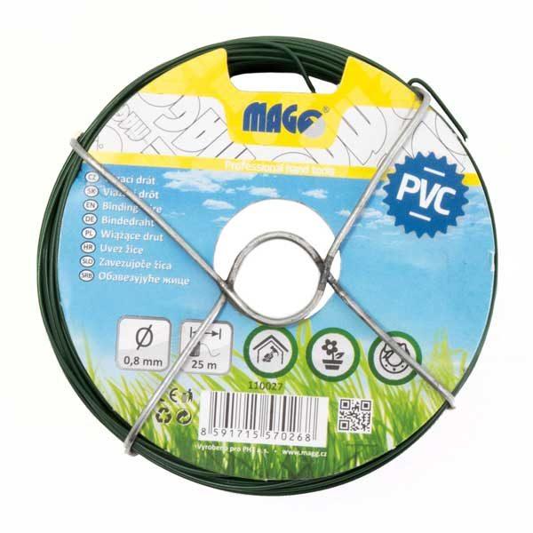 Kötöződrót PVC 0,8 mm, 25m hosszú