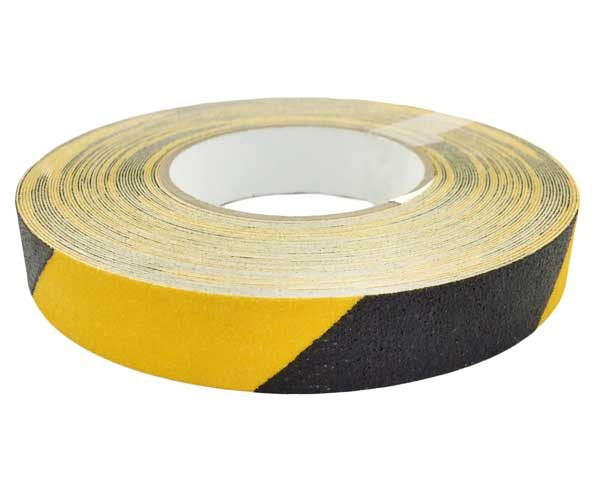 Csúszásgátló szalag 25mm x 18,3m – sárga/fekete