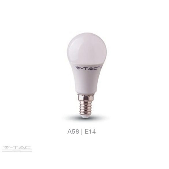 V-TAC LED IZZÓ 9W SAMSUNG CHIP E14 A60 3000K MELEG FEHÉR PRO114