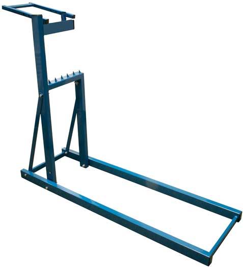 Fűrész állvány, teherbírás 150 kg, 119x38x101cm 120016