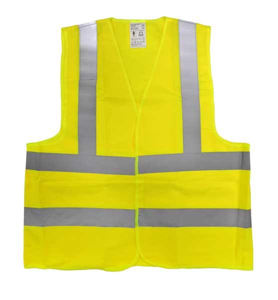 Biztonsági mellény sárga XL 120069