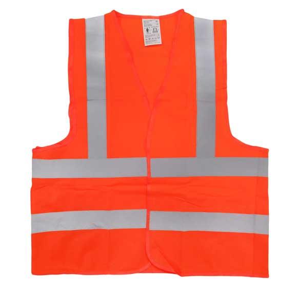 Biztonsági mellény narancs XL 120070