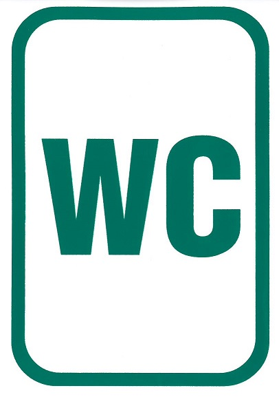 WC 105x150mm – matrica 120109