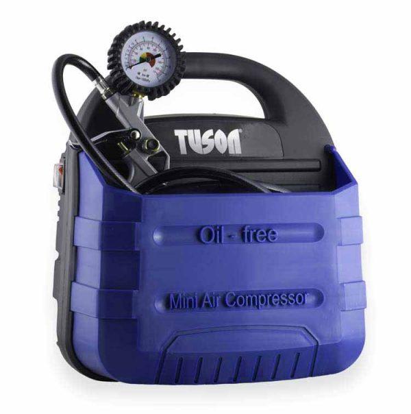 TUSON olajmentes kompresszor táska kompresszor 1,1kW 1,5LE 180l/perc 130011