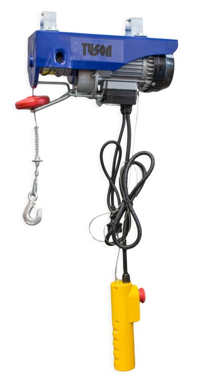 Tuson Elektromos drótköteles emelő daru csörlő 500W 250 kg 130029