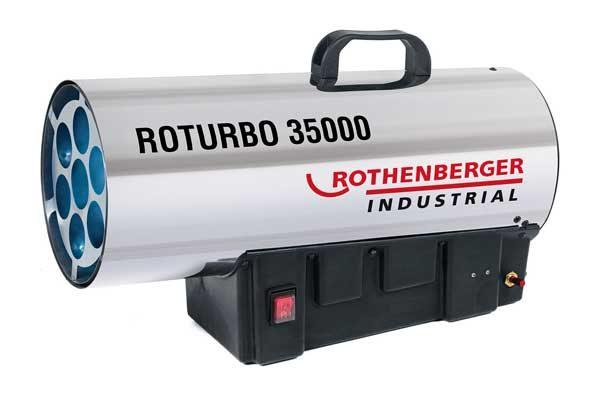 Rothenberger gázos hőlégfúvó hőlégbefúvó hősugárzó 34kW 1500000363