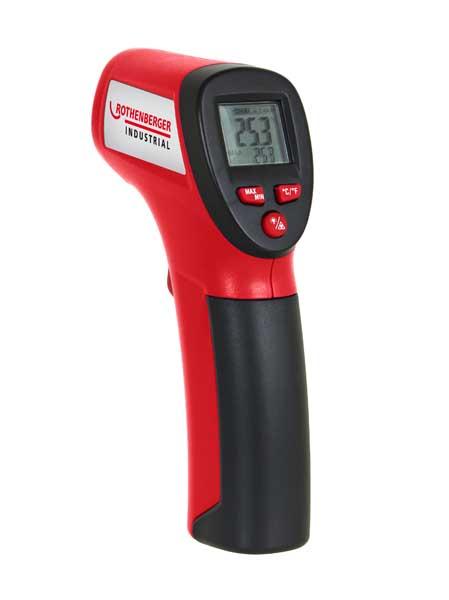 Rothenberger digitális infravörös hőmérséklet mérő hőmérő mérőműszer 1500000804