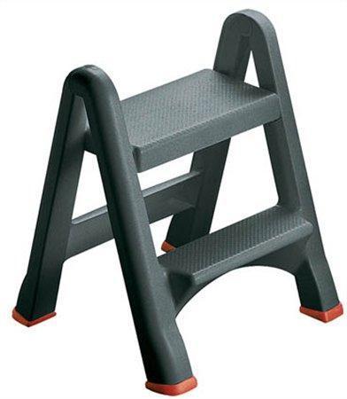 Step műanyag szétszedhető létra fellépő 2 lépcsővel 155160