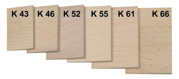 ZBIROVIA – 10 db-od faék szett K43 – 43x26x4,5 ZB302343