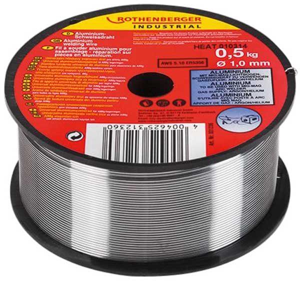Rothenberger alumínium hegesztőhuzal hegesztő huzal 1 mm 0.5 kg 31236