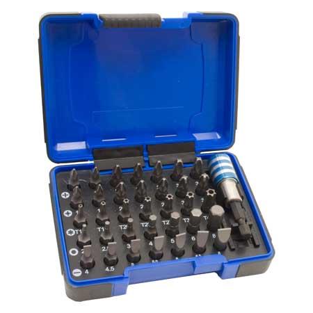 35 darabos bit készlet + 1 doboz 342135