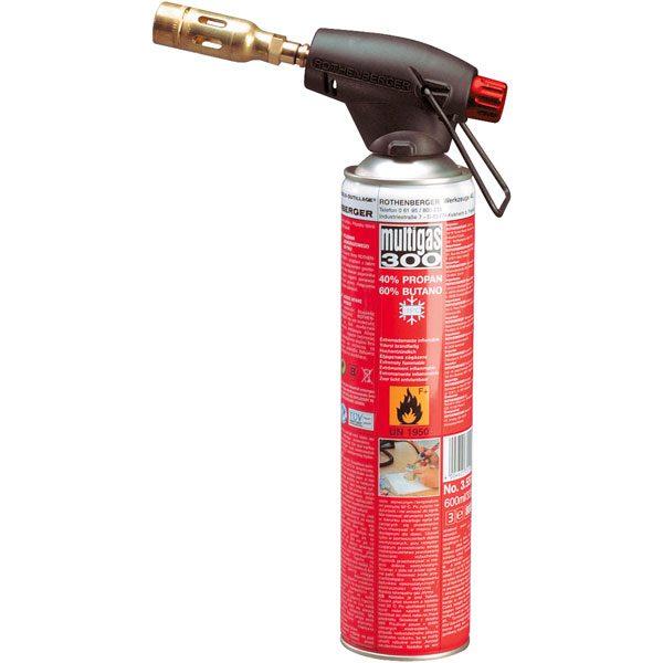 Rothenberger gázégő fej Rothenberger multigas 300 gázpatronhoz 35501
