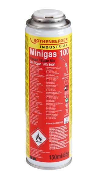 Rothenberger – Minigas 30% propán, 70% bután, 150ml