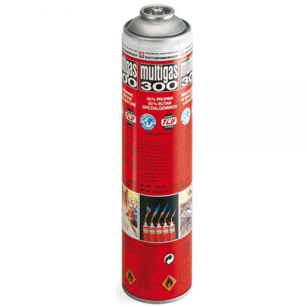 Rothenberger – propán/bután gáz keverék Multigas 300 35510