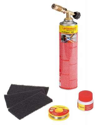 Rothenberger Rofix forrasztó készlet gázforrasztó gázégő forrasztó piezzo 35513