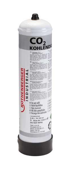 Rothenberger – Szén-dioxid eldobható acél gázpalack