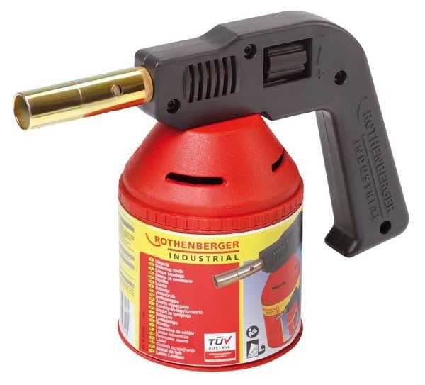 Rothenberger gázforrasztó gázégő forrasztó gázlámpa 1750 C 35930