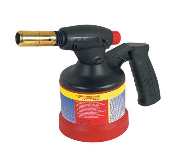 Rothenberger gázforrasztó gázégő forrasztó gázlámpa piezo 35931
